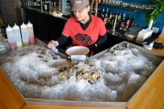 Oyster Shucking Station
